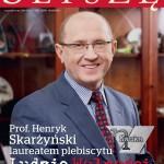 Prof. Henryk Skarżyński laureatem plebiscytu Ludzie Wolności