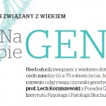 Prof. Lech Korniszewski:  Geny mogą przyspieszać niedosłuch związany z wiekiem albo przed nim chronić.