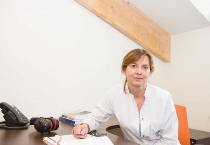 Dr Anna Piotrowska: Najbardziej skutecznym sposobem zapobiegania chorobom wywoływanym przez pneumokoki są szczepienia ochronne / Fot. Maciej Nowicki